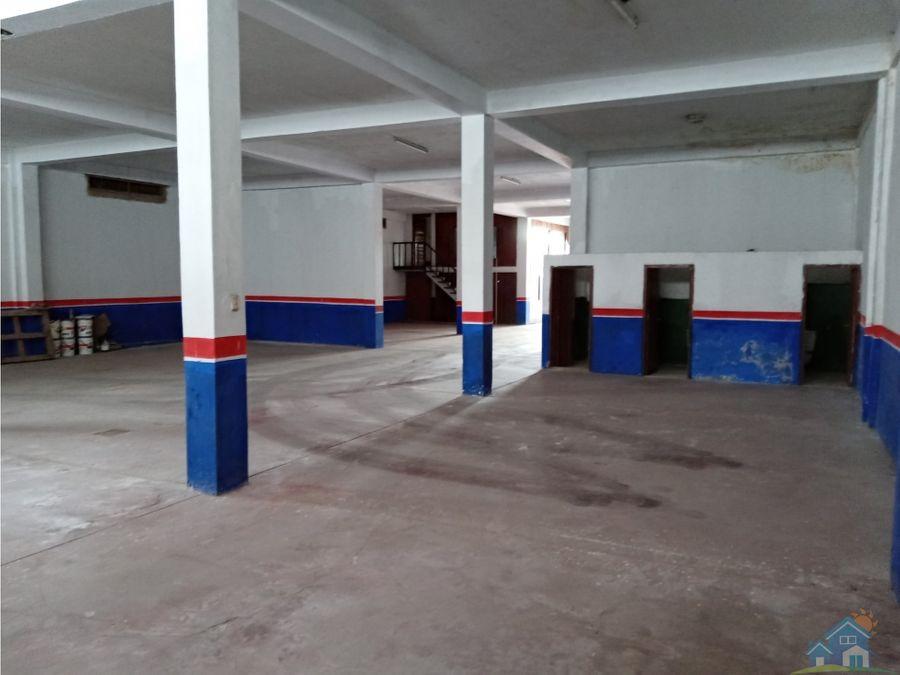 almacen en centro urbano de pucallpa 53250 m2