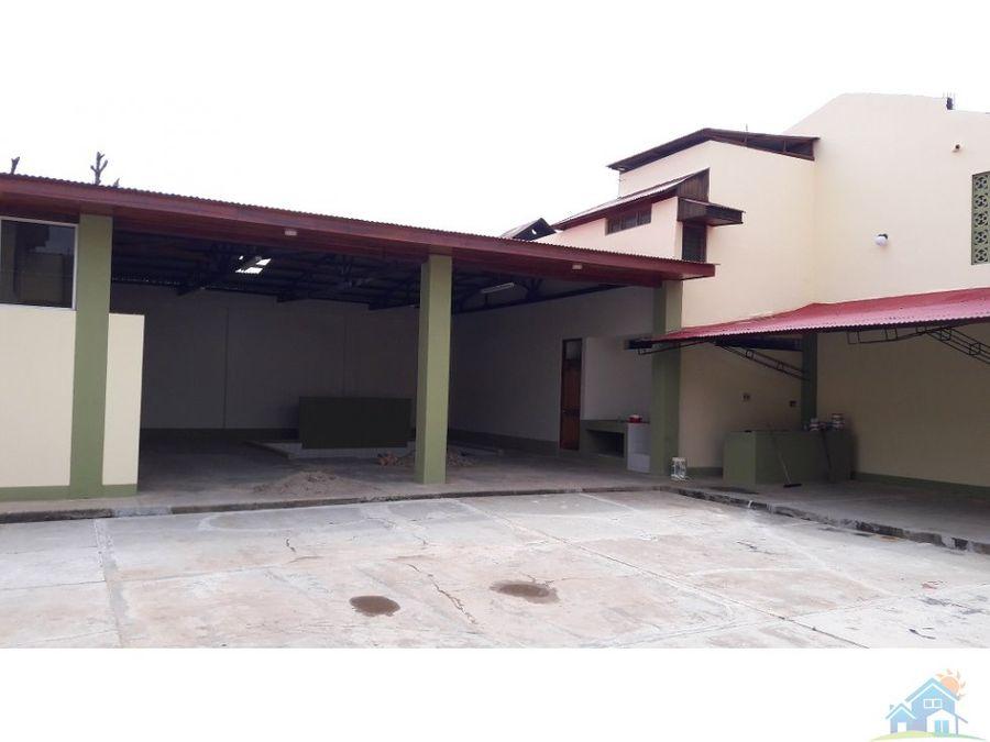 amplio local de 750 m2 para oficinas pucallpa
