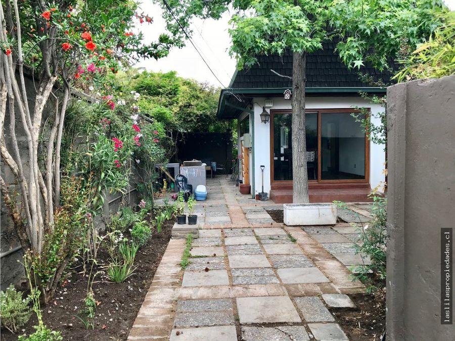 arriendo casa amplia resguardada muy privada