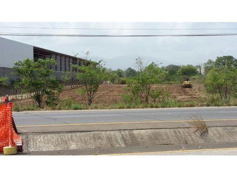 terreno en venta pacora sobre via interamericana