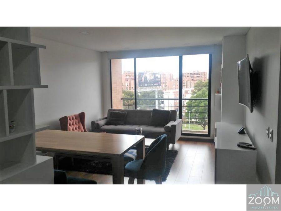 apartamento estupenda vista en bella suiza bogota