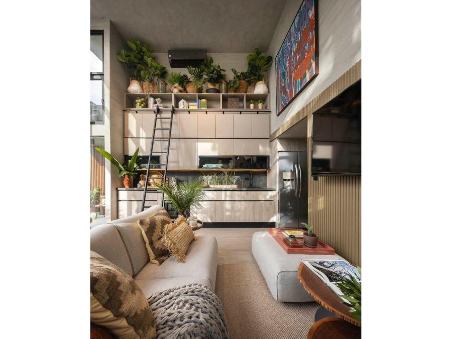 venta de apartamento tipo loft dovle selva coco del mar