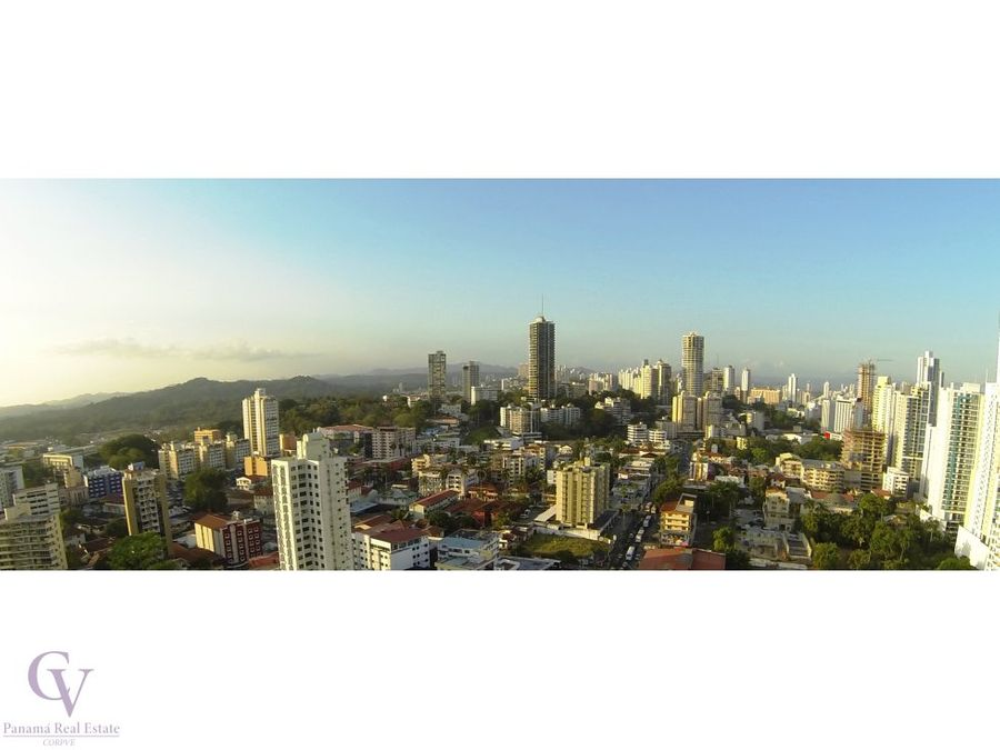 balboa bay condominium 110mts bella vista
