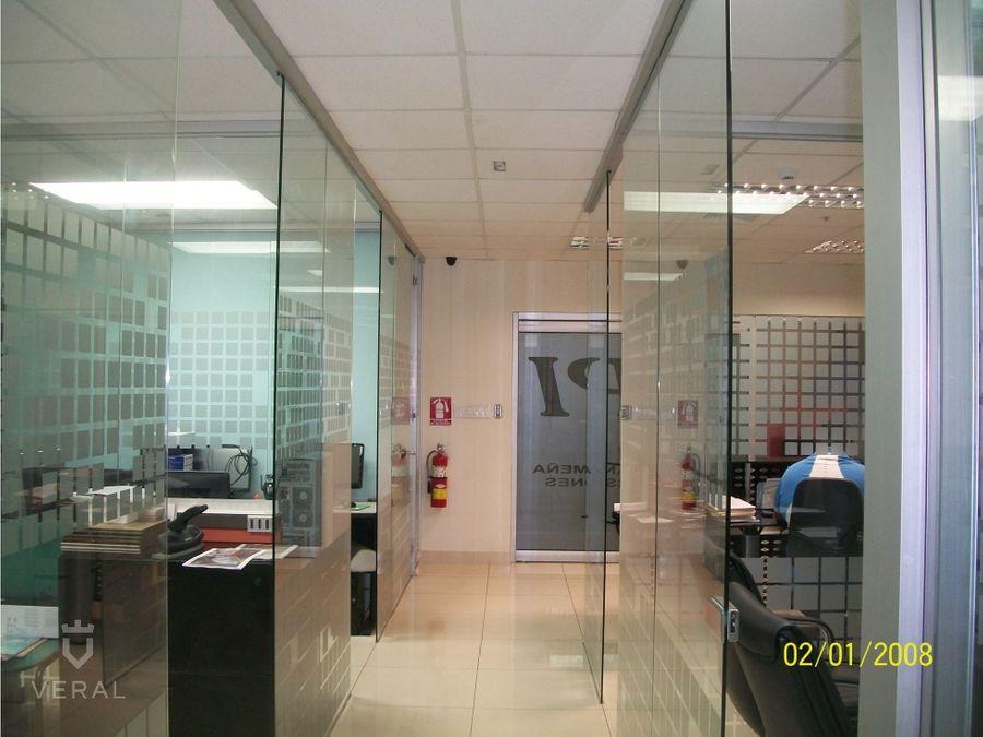 alquiler de oficina en torre banesco marbella
