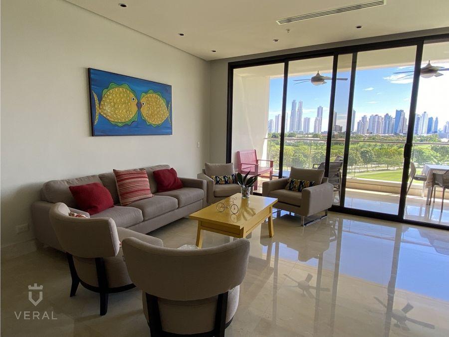 apartamento en venta ph la vista on the green santa maria bal
