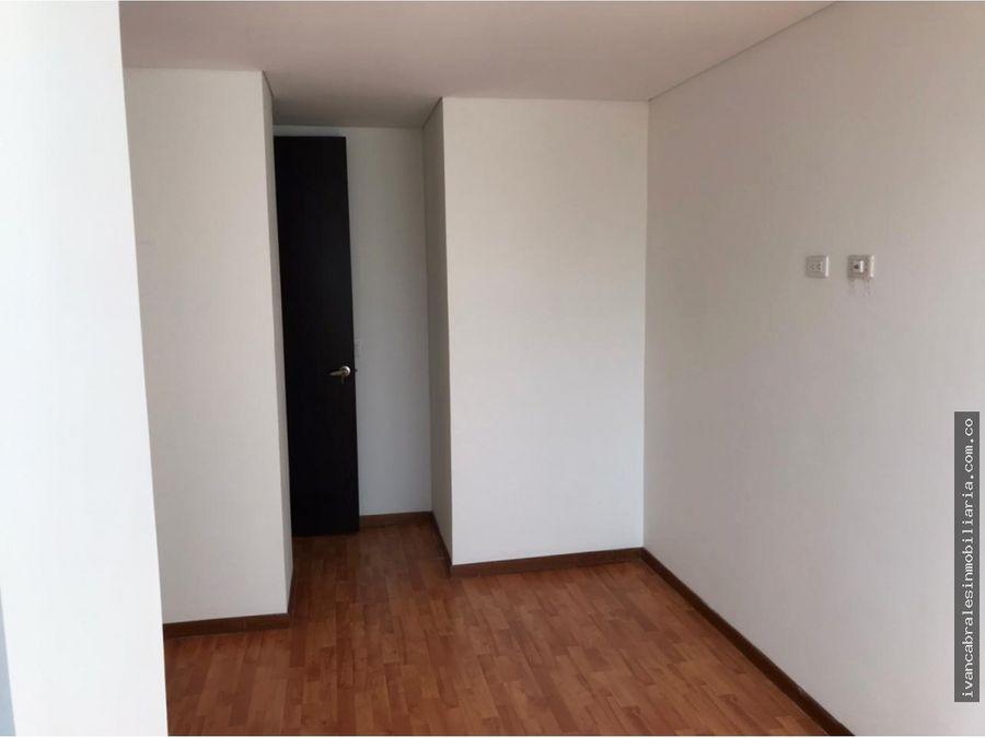 apartamento en arriendo edificio bonaire