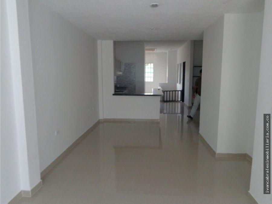 apartamento en arriendo sector santa ana
