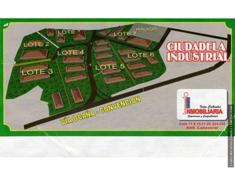 lotes en venta ciudadela industrial ocana