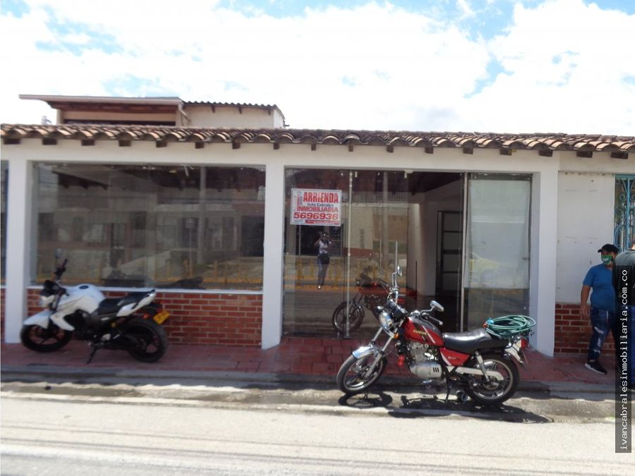 local en arriendo sector acolsure