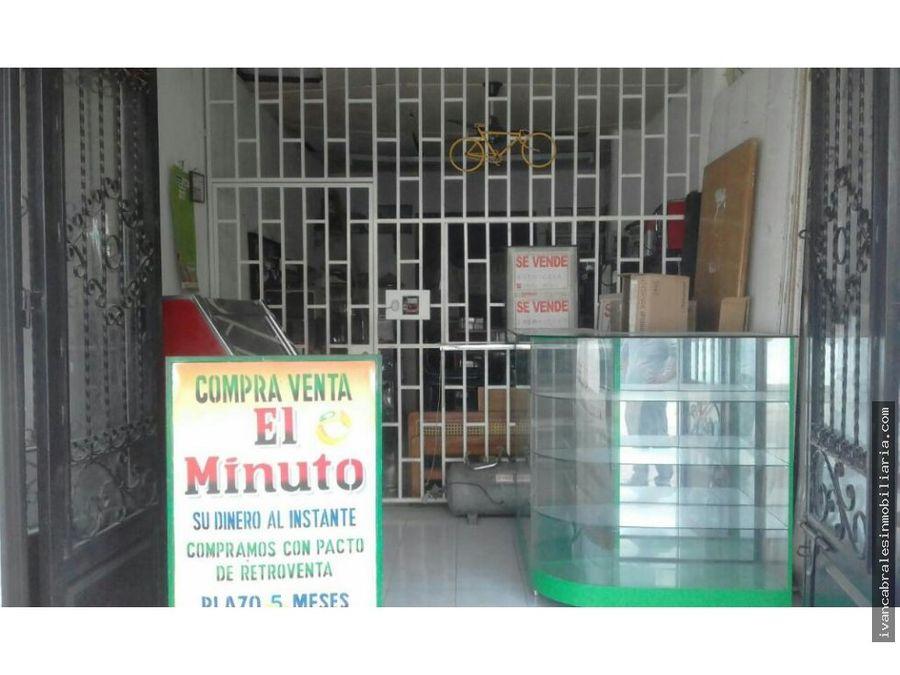 casa y tres locales en venta aguachica