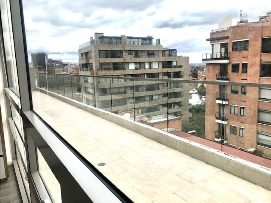 vendo o arriendo espectacular apartamento en la cabrera