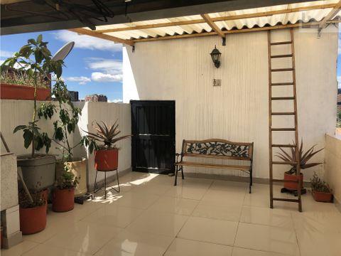 vendo apartamento en cedritos con terraza