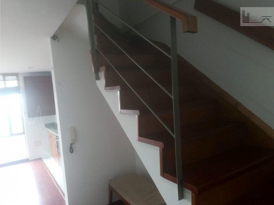 arriendo apartamento duplex 1 habitacion estudio chapinero