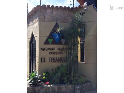 vendo lote en agrupacion residencial campestre el triangulo chia