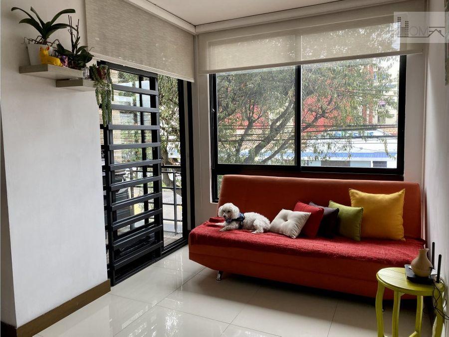 apartamento en ventade 2 habitaciones en cedritos