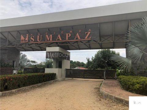 vendo casa hacienda sumapaz melgar