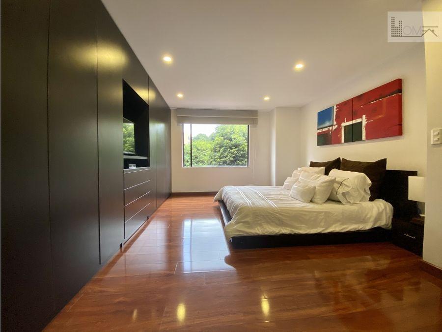 apartamento remodelado en arriendo 3 habitaciones santa barbara