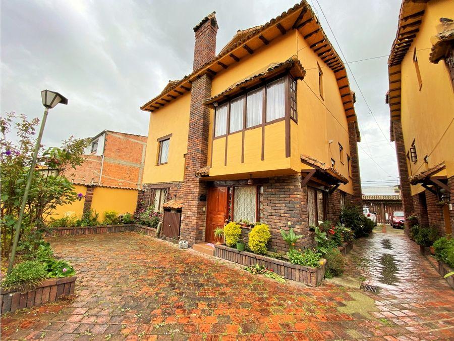 vendo casa tradicional en chia