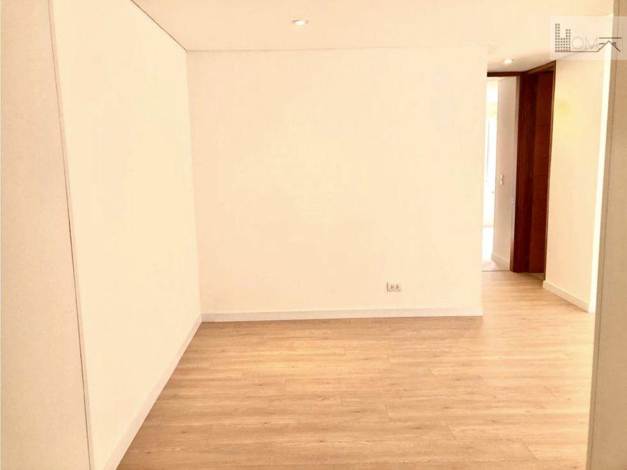vendo hermoso apartamento en chico navarra