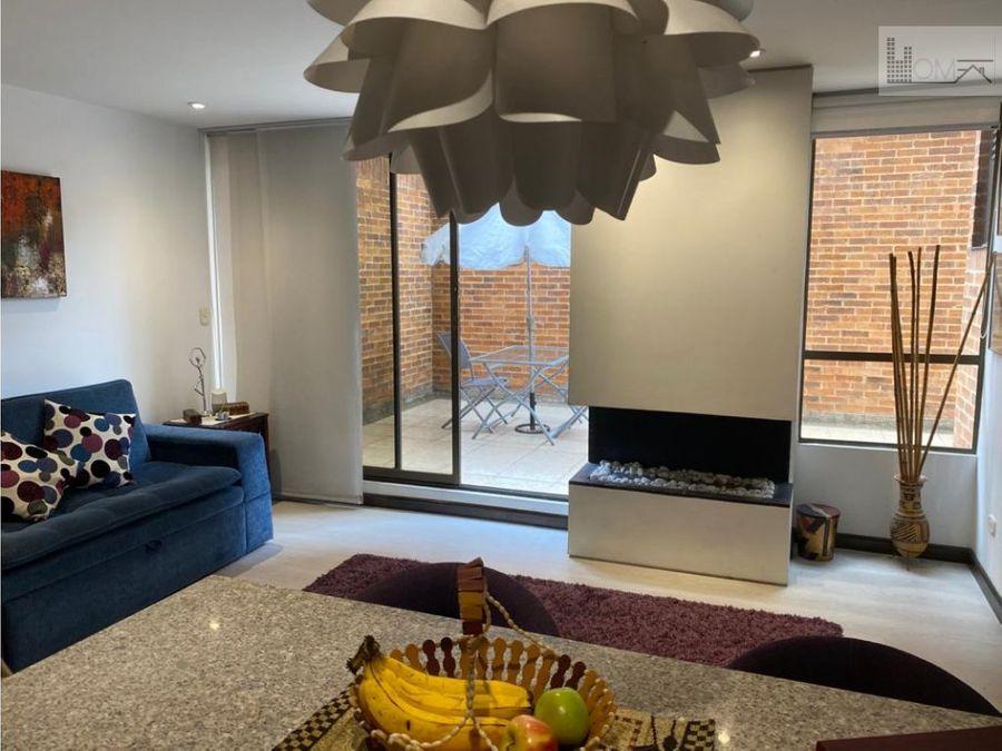 apartaestudio con terraza en venta cedritos