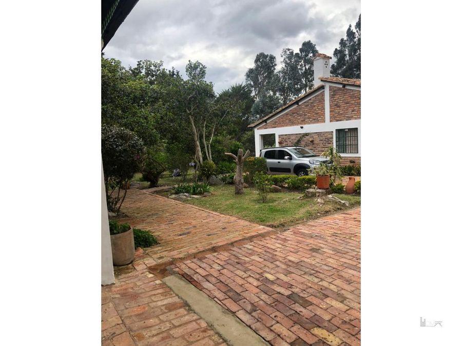 vendoarriendo hermosa casa con cabana en villa de leyva