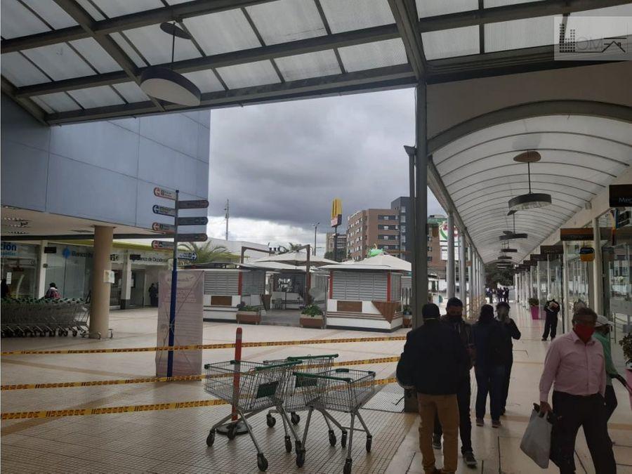 vendo local centro comercial sabana norte chia