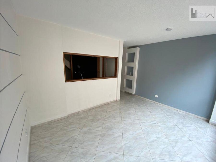 apartamento con terraza en arriendo en cedritos