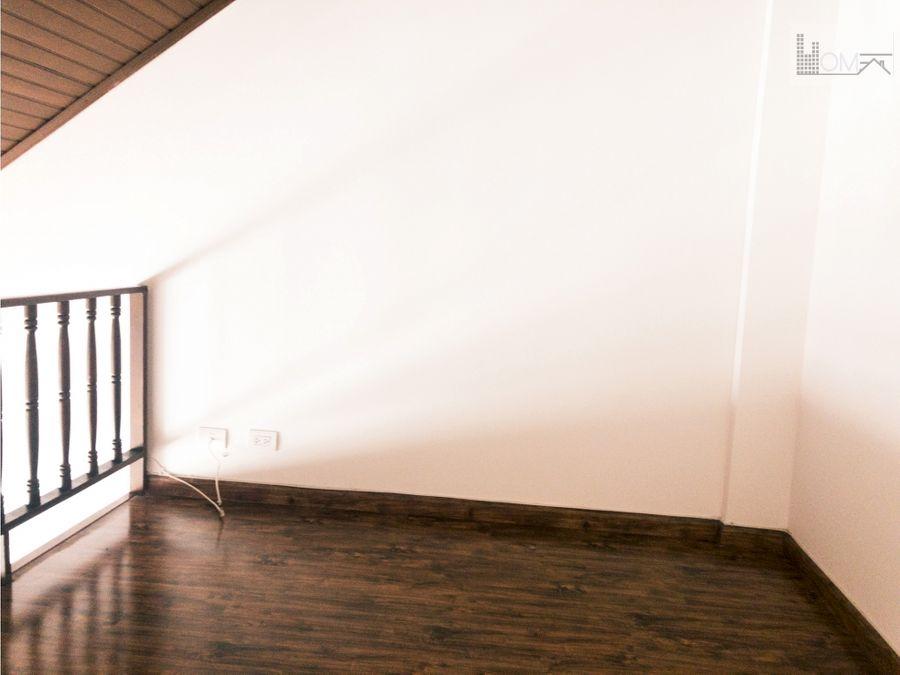 vendo apartamento duplex en pasadena