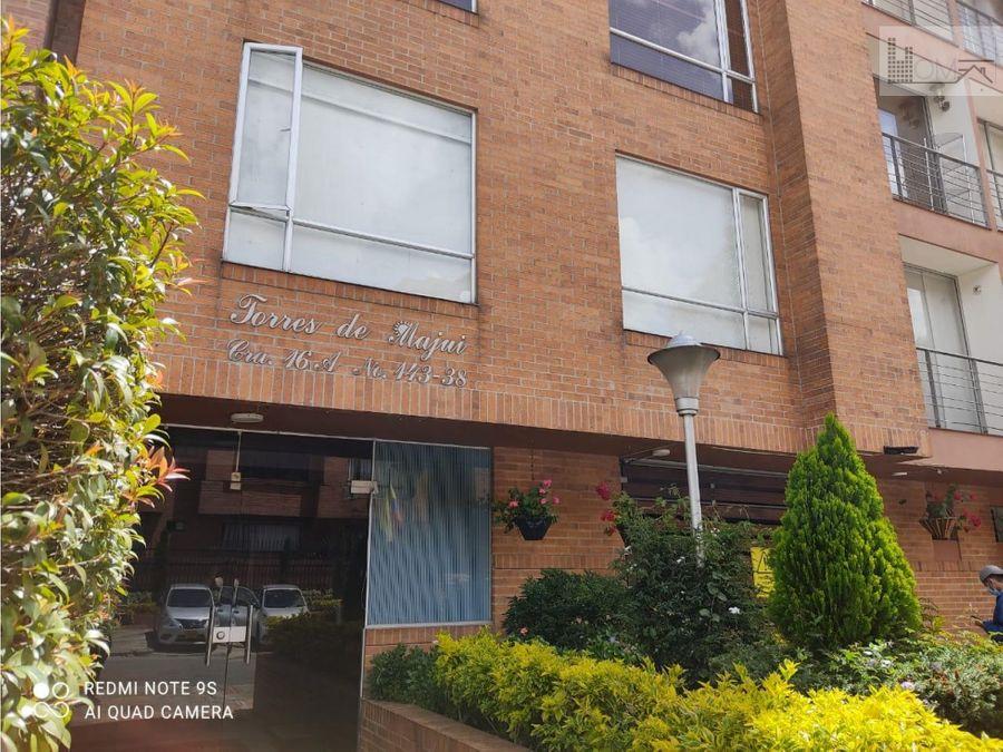 vendo apartamento cedritos torres de majui