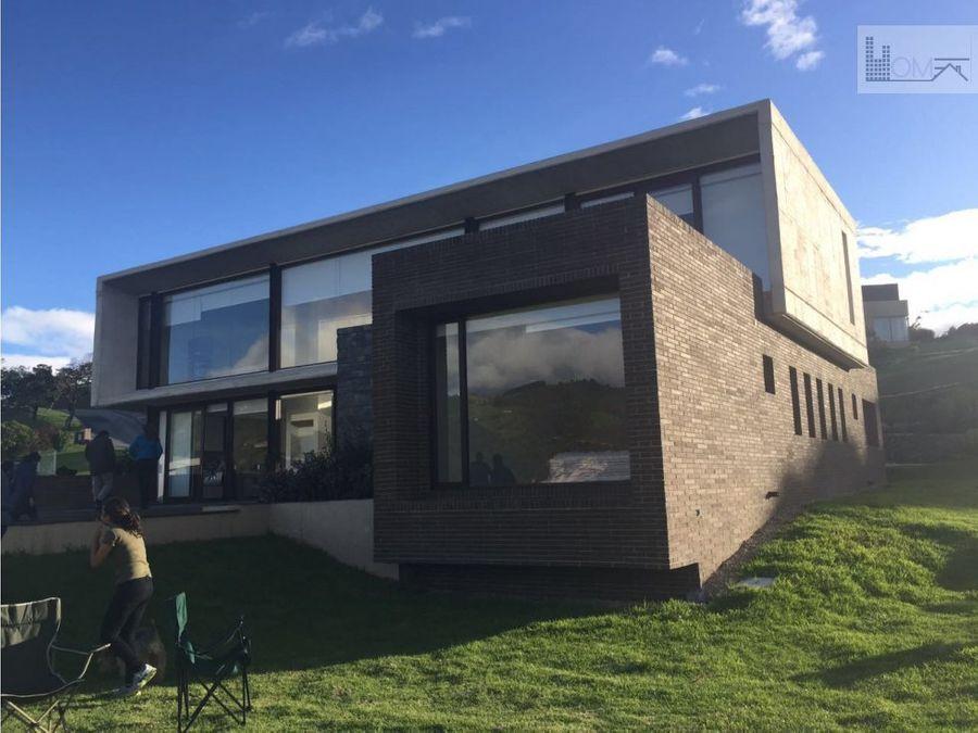 hermosa casa conjunto casa de campo la calera