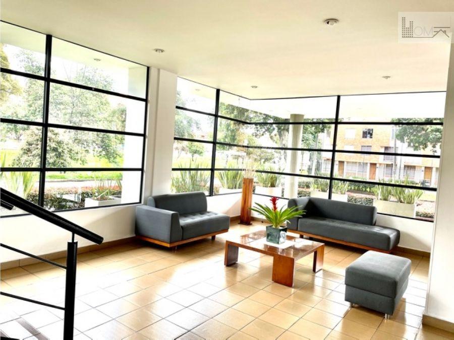vendo hermoso apartamento en la colina campestre