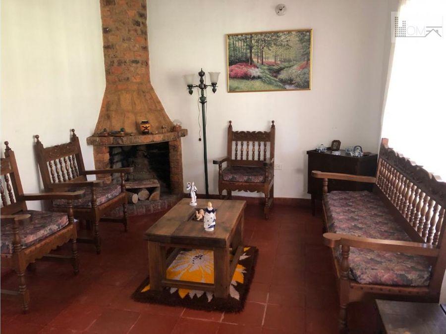 vendo hermosa casa con cabana en villa de leyva