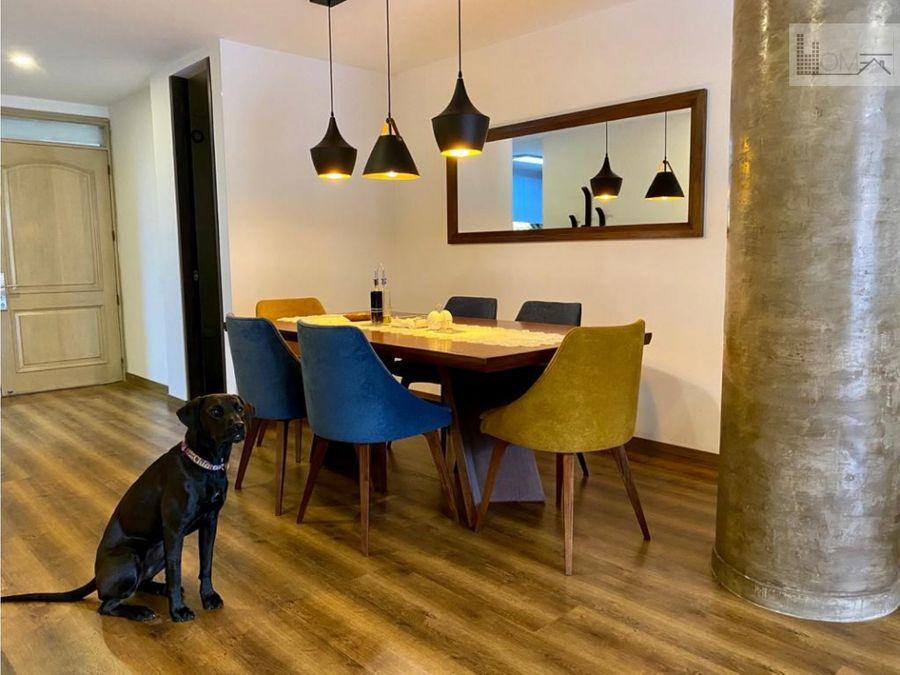 apartamento en venta remodelado en chico navarra