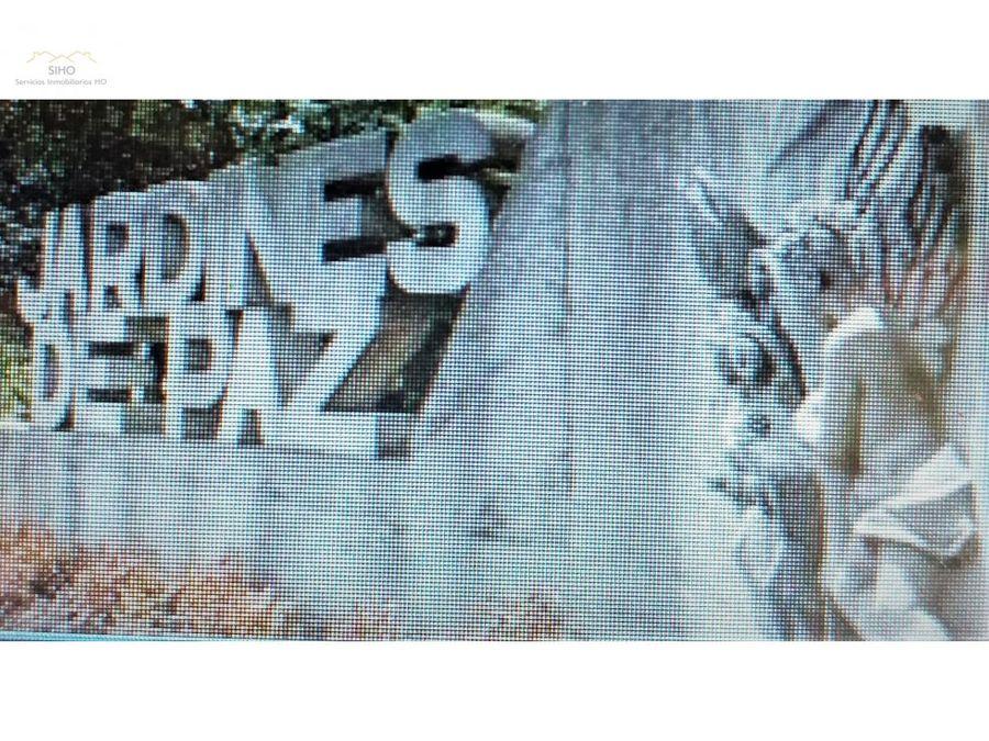 vendo lote doble jardines de paz mz 26 s18