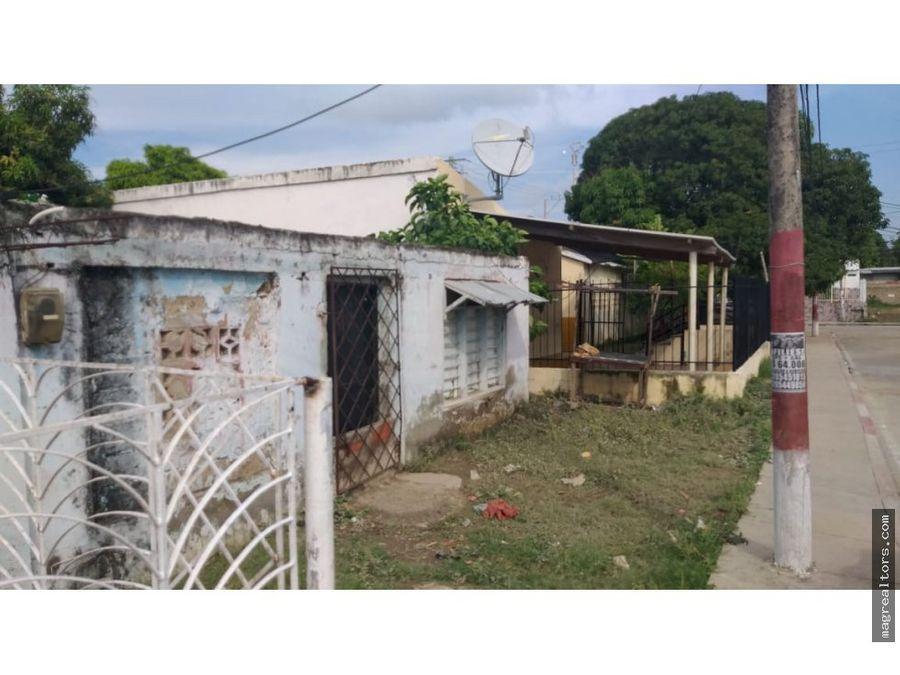 se vende casa lote en cartagena san fernando
