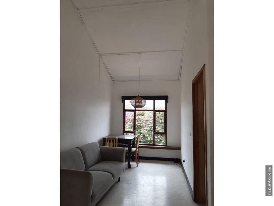 apartamento en renta en colonia candelaria antigua