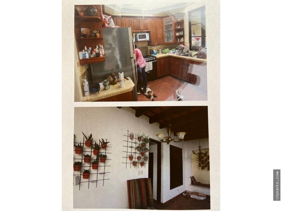 se vende casa dentro del condominio el calvario antigua g