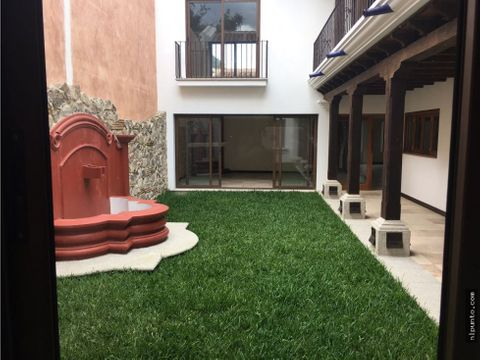 casa en venta en condominio en casco de antigua