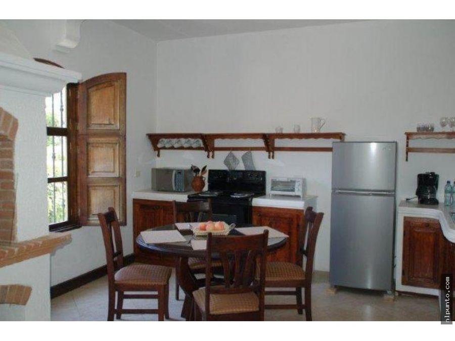 apartamento tipo estudio en renta en antigua g