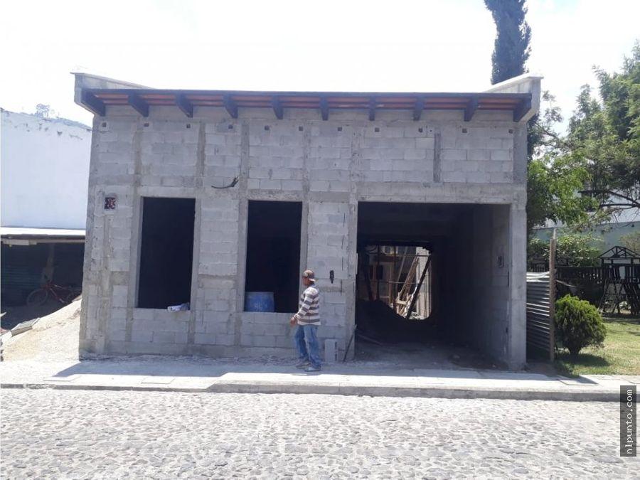 casa nueva a la venta en condominio