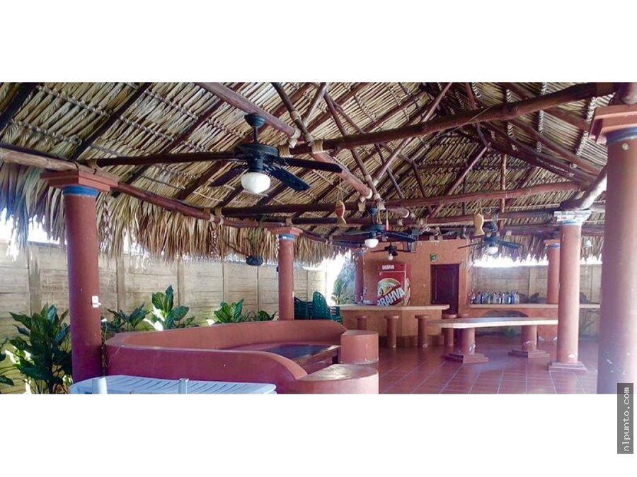 casa en la playa dentro de condominio en venta