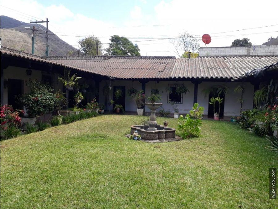 en venta en antigua guatemala propiedad grande