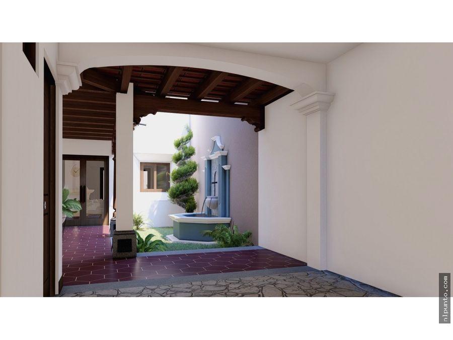 casa en venta en construccion dentro de condominio