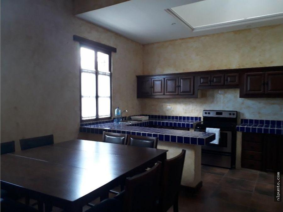 casa en renta en area norte dentro de condominio