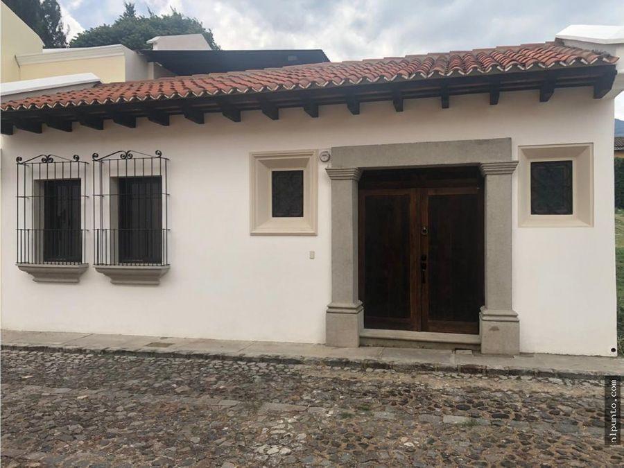 casa en venta en ciudad vieja sacatepequez
