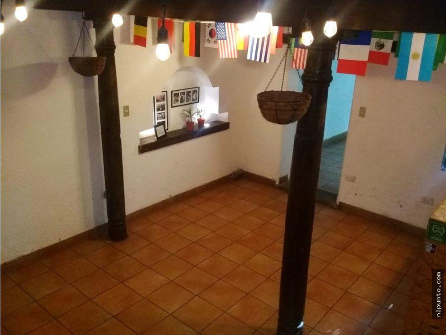 casa comercial en renta en el centro de antigua