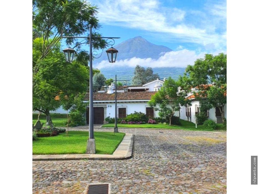 4 casas en venta dentro de condominio en ciudad vieja sacatepequez