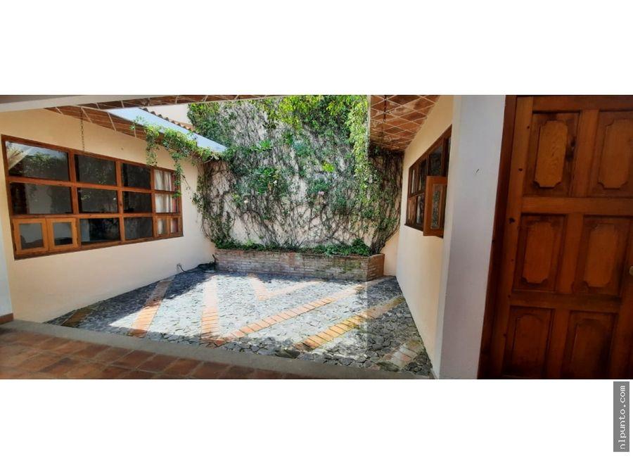 apartamento en renta en la candelaria antigua guatemala