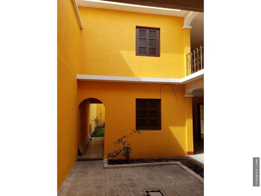 casa a la venta en la ciudad colonial