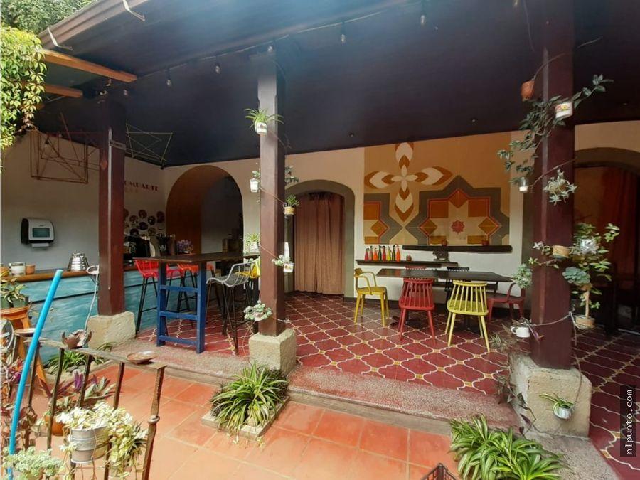 casa comercial centrica en antigua guatemala